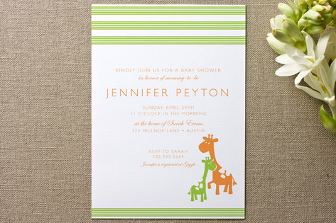 Cuddle Baby Shower Invitations