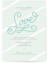 Built on Love Baby Shower Invitations