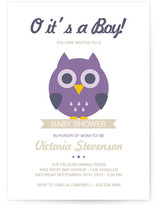 O it&#039;s a Boy! Baby Shower Invitations