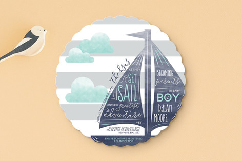 Set Sail Adventure Baby Shower Invitations