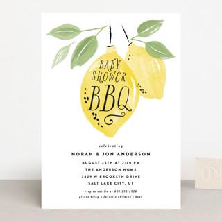 Baby Shower BBQ Baby Shower Invitations
