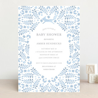 Foxy Baby Shower Baby Shower Invitations