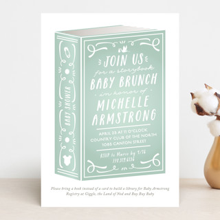 Storybook Shower Baby Shower Invitations