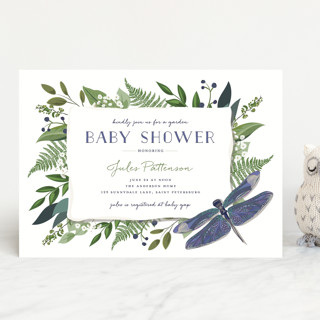 Nature Baby Baby Shower Invitations