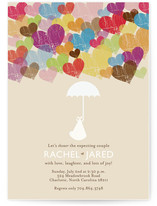 a lovely arrival Baby Shower Invitations