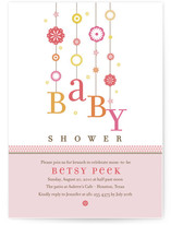 magical mobile Baby Shower Invitations
