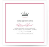 Our Little Princess Baby Shower Invitations