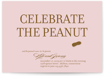 our peanut Baby Shower Invitations