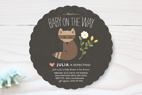 Baby on the Way Baby Shower Invitations