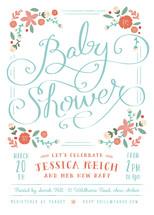 Vintage Garden Baby Shower Invitations By Lori Wemple