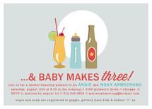 Drinks All Around Baby Shower Invitations By Jennifer Postorino
