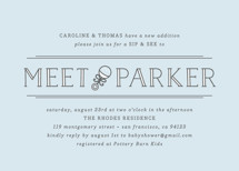 Meet + Greet Baby Shower Invitations By Bourne Paper Co.