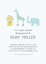 Safari Soiree Baby Shower Invitations By Carolyn MacLaren