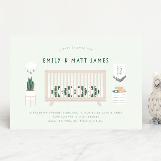 Boho Nursery Baby Shower Invitations