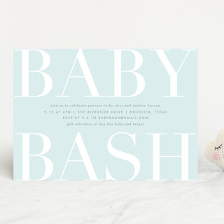 Big Bash Baby Shower Invitations