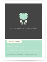 Hipster Modern Baby Shower Invitations