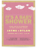 It&#039;s Raining Babies Baby Shower Invitations