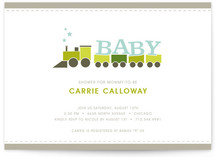 All-Aboard! Baby Shower Invitations