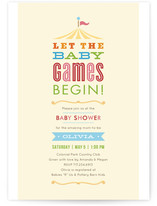 Let the Games Begin! Baby Shower Invitations