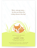 Rain, Rain... Baby Shower Invitations