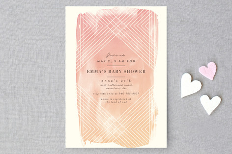 Masked Wash Baby Shower Invitations