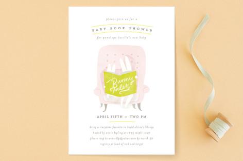 Bunny Tales Baby Shower Invitations