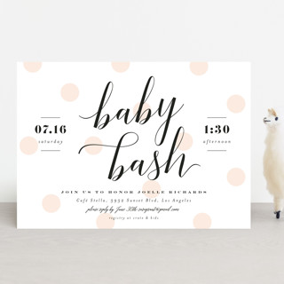 Baby Bash Script Baby Shower Invitations