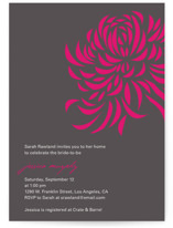Bridal Blooms Bridal Shower Invitations