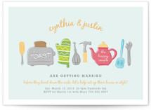 Toast the Happy Couple Bridal Shower Invitations