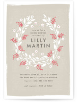 Abundance Bridal Shower Invitations