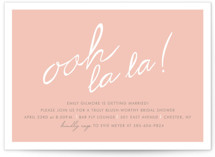 Make Her Blush Bridal Shower Invitations
