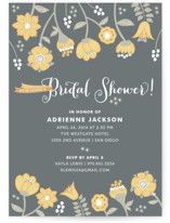 Garden Whimsy Bridal Shower Invitations