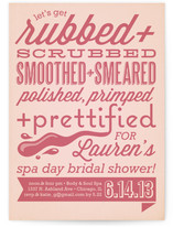 Get Prettified Bridal Shower Invitations