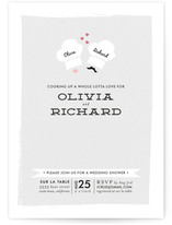 Cooking Up Love Bridal Shower Invitations