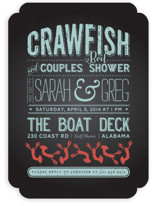 Crawfish & Couples Bridal Shower Invitations