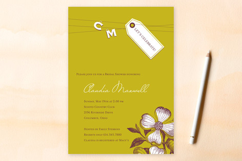 Bridal Shower Invitation Wording Example: Please Join us for a bridal ...