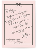 Pass the Macaroons, Darling Bridal Shower Invitations