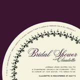 French Fantaisie Bridal Shower Invitations