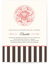 Flower Power Bridal Shower Invitations