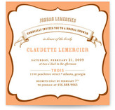 La Fete Bridal Shower Invitations