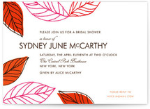 Leaves of Green Bridal Shower Invitations