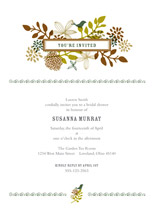 Fling Bridal Shower Invitations