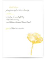 Modern Devotion Bridal Shower Invitations