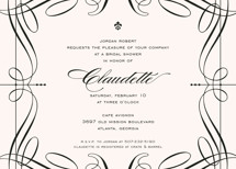 Opera Bridal Shower Invitations