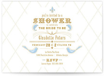 petit lun Bridal Shower Invitations