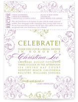 Recipe Bridal Shower Invitations