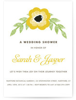 Precious Poppy Bridal Shower Invitations