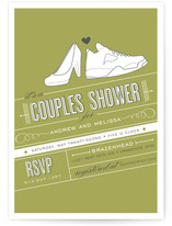 Shoe Fetish Bridal Shower Invitations