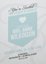 The Future Mrs. Bridal Shower Invitations