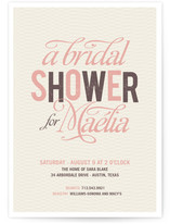 Jolie Bridal Shower Invitations